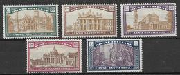 Italia - Italy 1924 Mi. Nr. 206/210 - Ungebraucht