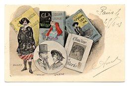 Carte Publicitaire Des Editions Flammmarion 26 Rue Racine Paris - District 06