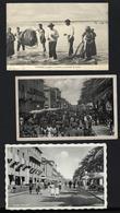 Conjunto De 3 Postais Antigos De ESPINHO - Lavagem Da Sardinha + O Corso Na Avenida 8. Set 3 Postcards (Aveiro) PORTUGAL - Aveiro