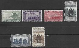 Italia - Italy 1926 Mi. Nr. 234/239 - Ungebraucht