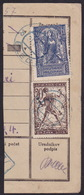 Bled, Blue Cancellation, On Piece - 1919-1929 Kingdom Of Serbs, Croats And Slovenes