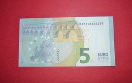 5 EURO M004I3 PORTUGAL M004 I3 - DRAGHI - MA2318222234 - NEUF FDS UNC - EURO