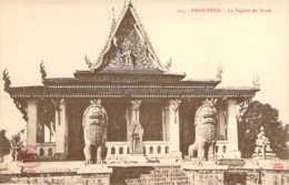 CAMBODGE Pagode De Pnom à PNOM-PENH - Cambodge
