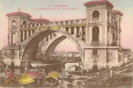 CAMBODGE Le Pont De Verneville Pont Des Dollars à PNOM-PENH  Carte Colorisée - Cambodge