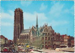 Mechelen - St-Rombauts Kathedraal - & Old Cars - Mechelen