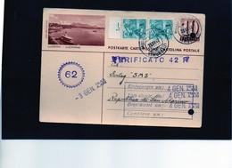 CG6 - Svizzera - Cartolina Postale - Annullo Di Hugelshofen 23/12/1942 Per Rep. San Marino  (IT) - Stamped Stationery