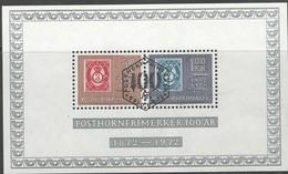Noorwegen, Mi Blok 1, Jaar 1972, Gestempeld - Blocs-feuillets
