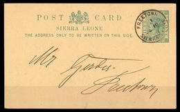 1893, Sierra Leone, P 5, Brief - Sierra Leone (1961-...)