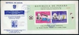 1968, Panama, Bl. 100 A, FDC - Panama