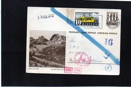 CG6 - Svizzera - Cartolina Postale - Annullo Di Luzern 20/1/1944 Per Rep. San Marino - Stamped Stationery