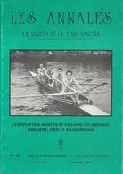 44 NANTES No 236 LES ANNALES DE NANTES 2 Ieme TRIMESTRE 1990  LES  SPORTS A NANTES EN L. A. NAGUERE HIER  AUJOURD'HUI - Tourisme & Régions