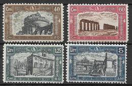 Italia - Italy 1926 Mi. Nr. 249/252 - Ungebraucht