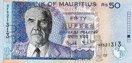 MAURITIUS 50 RUPEES  2001 P-50  UNC - Mauritius