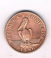 1 LEK 1996 ALBANIE /757/ - Albanie
