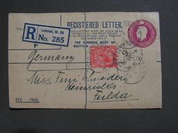GB R Cv. London Nach Fulda  1925 - 1902-1951 (Könige)