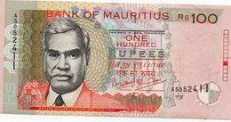 MAURITIUS 100 RUPEES  2001 P-51  AUNC - Mauritius
