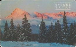 """Slovenia Phone Card """"Landscape Vysoké"""" - Slowenien"""