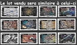 Série Complète France 2018 - Thomas Pesquet - La Terre Vue De La Station Spatiale (lot Vendu Sera Similaire à Celui-ci). - Luchtpost
