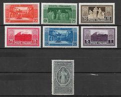 Italia - Italy 1929 Complete Set Mi. Nr. 318/324 - Ungebraucht