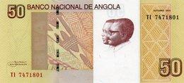 ANGOLA 50 KWANZAS 2012  P-152 UNC - Angola