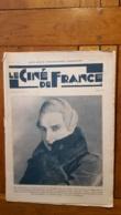 TRES RARE REVUE LE CINE DE FRANCE 06/1927  12 PAGES  IVAN MOSJOUKINE - CARMEN BONI  -  I.M. MOSKWIN  ETC ... - Cinéma/Télévision