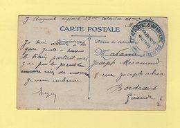 32e Regiment D Artillerie Coloniale - Marseille - Storia Postale