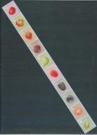 Timbres Rouleaux Par 10 Rolzegels Fruits Grande Dentelure Poire Grote Tanding VF 9,8 € - Francobolli In Bobina