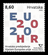 Croatia 2020 Mih. 1437 Croatian Presidency Of The Council Of The European Union MNH ** - Croazia