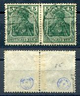 D. Reich Michel-Nr. 85IIa Paar Gestempelt - Geprüft - Gebruikt