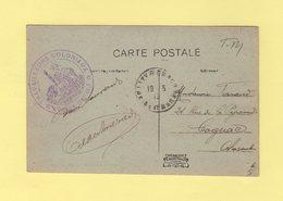 Travailleurs Coloniaux - L Officier Comptable - Lizy Sur Ourcq - 1919 - Guerra De 1914-18