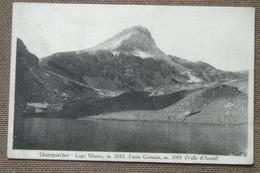 CHAMPORCHER -1935  -LAGO MISERIN  -    FP  -BELLISSIMA - Non Classificati