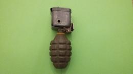 Grenade à Main Défensive US MKII Avec Allumeur De Piégeage M1 à Relâchement - Armi Da Collezione