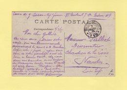 Tresor Et Postes 119 - 7 Mars 1915 - Albert Somme - Guerra De 1914-18