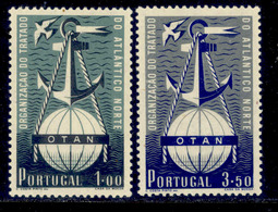 ! ! Portugal - 1952 NATO/OTAN (Complete Set) - Af. 749 To 750 - MH - 1910-... Republic