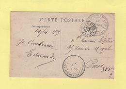 28e Regiment Territorial D Infanterie - Tresor Et Postes 150 - 16 Fevr 1915 - Arras - Storia Postale