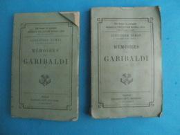 Alexandre DUMAS Mémoires De GARIBALDI - 2 Tomes - Calmann Lévy - Début 20e - Livres, BD, Revues