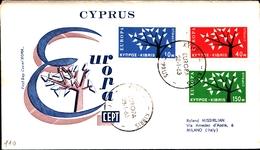 12212) CIPRO BUSTA FDC EUROPA CEPT 1963 - Cipro (Repubblica)