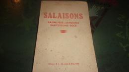 1942 LAZLO HENNEL SALAISONS CHARCUTERIE SAUMURES JAMBONS SAUCISSONS SECS .. - Gastronomie