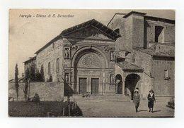 Perugia - Chiesa Di S. Bernardino - Viaggiata Nel 1928 - (FDC19605) - Perugia