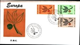 12221) CIPRO BUSTA FDC EUROPA CEPT 1965 CIPRO KIBRIS - Cipro (Repubblica)