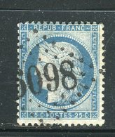 Superbe N° 60 - Cachet GC 6098 ( Octeville ) - 1871-1875 Cérès