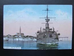 AK ROVIGNO Schiff Rovinj 1913  ///  D*41714 - Croatie