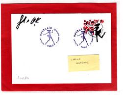 F 2020/ 1.94 € Coeurs Guerlain, Obl 1er Jour 10.01.20 La Petite Robe Noire, Signé Par Florence Deygas Et Olivier Kuntzel - FDC