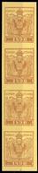 1890, Österreich, AM 4-er, (*) - Machine Postmarks