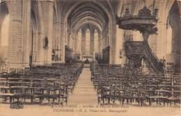 VILVOORDE - O. L. Vrouw-kerk, Binnengezicht - Vilvoorde