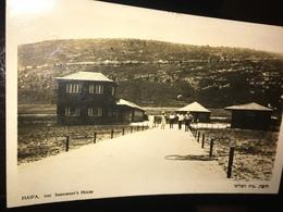 See Photos. Haifa Immigrant's House 1927 - Israel