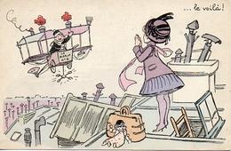Illustrateur C Fres, Arrivée Du Blériot N°4 - Autres Illustrateurs