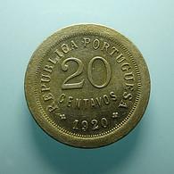 Portugal 20 Centavos 1920 Varnished - Portugal