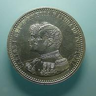 Portugal 500 Reis 1898 4º Centenário Da Descoberta Da India Silver - Portugal