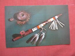 Ceremonial Pipe & Tobacco   Ref  3863 - Indiani Dell'America Del Nord